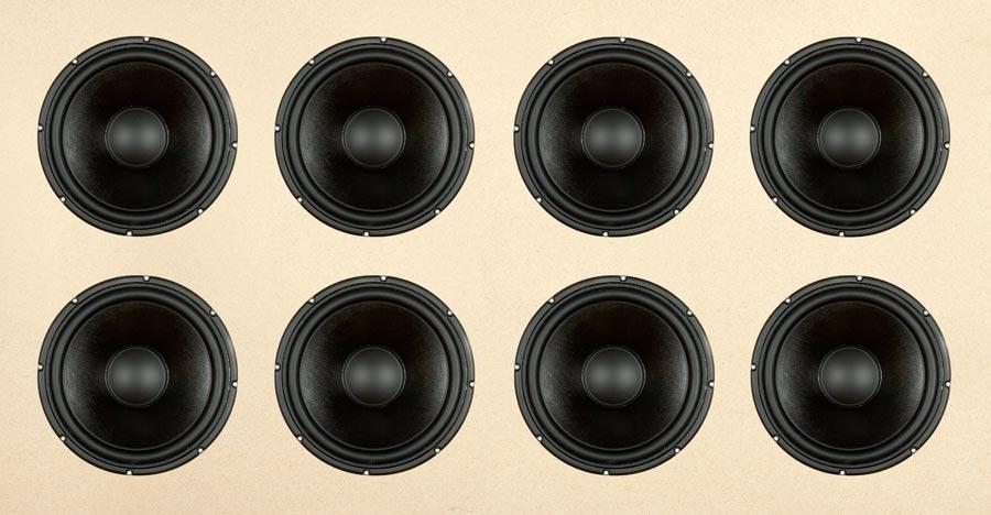 Iso säteilevä pinta-ala a) on erittäin katu-uskottavaa ja b) tuottaa äärimmäisen vaivatonta bassoa, jossa on rajusti auktoriteettia.