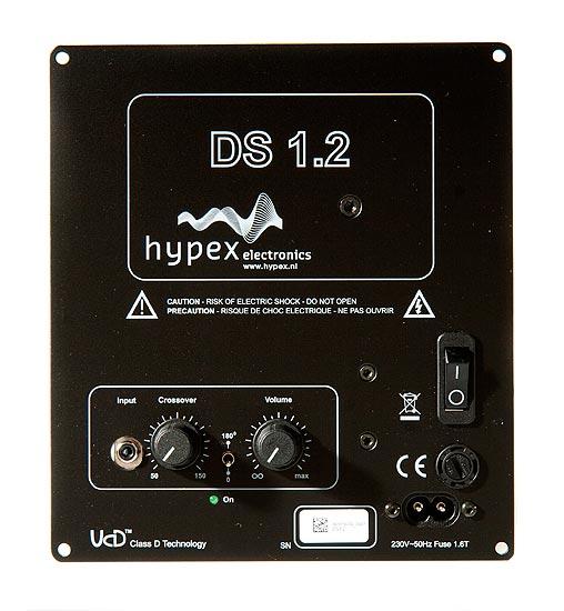 Hypex DS1.2 on mainio edullisen subbarin vahvistin, elementin koosta riippumatta.