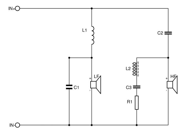 Jakosuodin on yksinkertainen. Jos haluat parantaa suodinkomponenttien laatua, aloita basson sarjakelan resistanssin minimoinnilla ja valitse diskantin sarjakondensaattoriksi mahdollisimman korkealaatuinen.