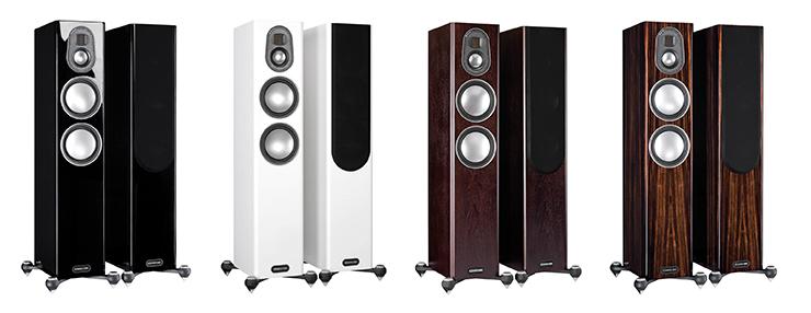 monitor-audio-gold-200-varivaihtoehdot-musta-valkoinen-pahkina-eebenpuu