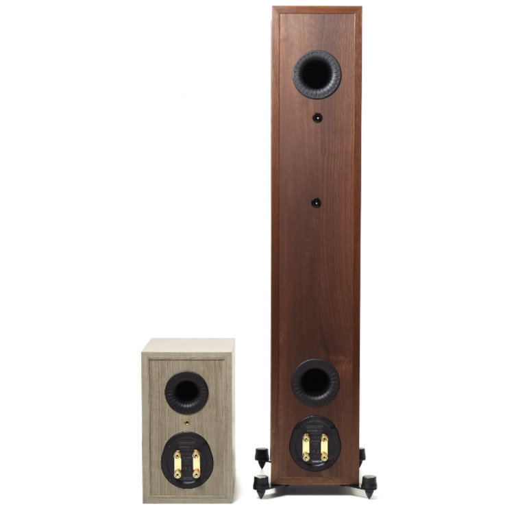 monitor audio bronze 50 ja bronze 200 liittimet refleksiputket 9566