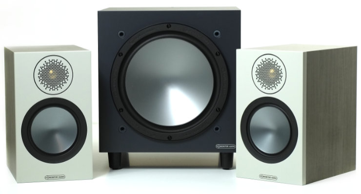 monitor audio bronze 50 ja bronze w10 subwoofer 9571