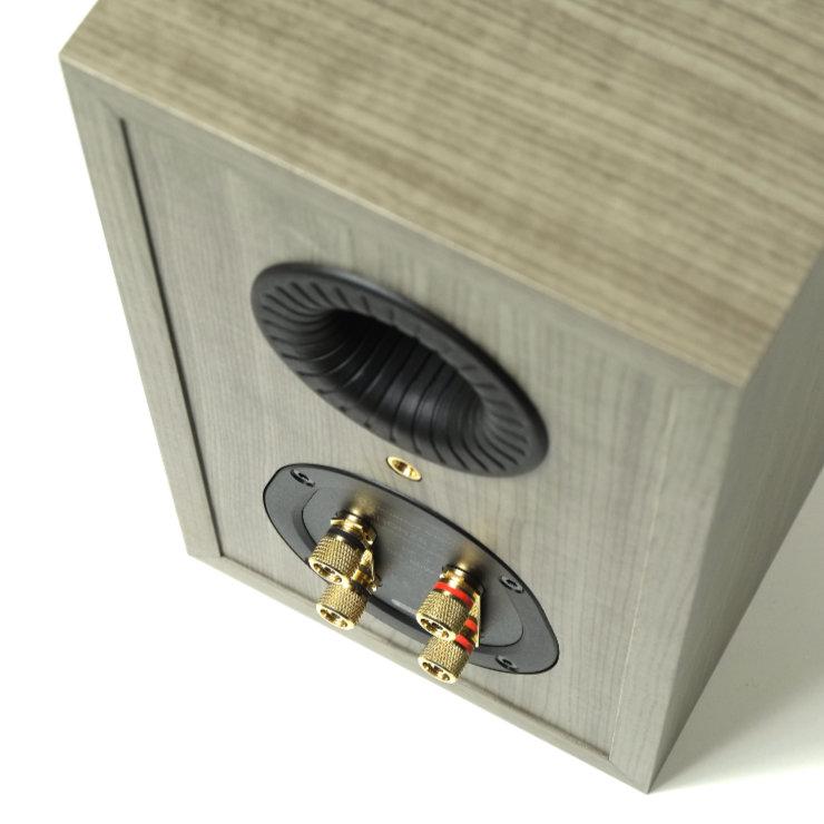 monitor audio bronze 50 liittimet ja refleksiputki 9573