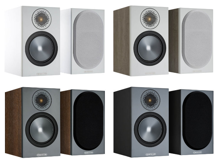 monitor audio bronze 50 varit valkoinen urban grey pahkina musta