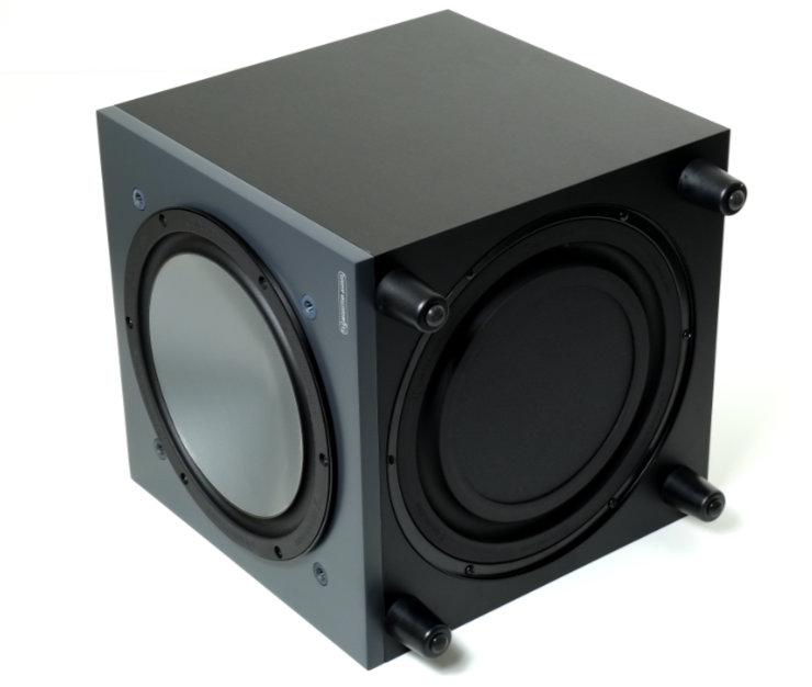 monitor audio bronze w10 bassoelementti passiivisateilija 9574